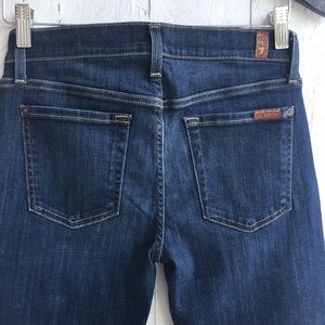 7 For All Mankind Capri size 27 jeans pants